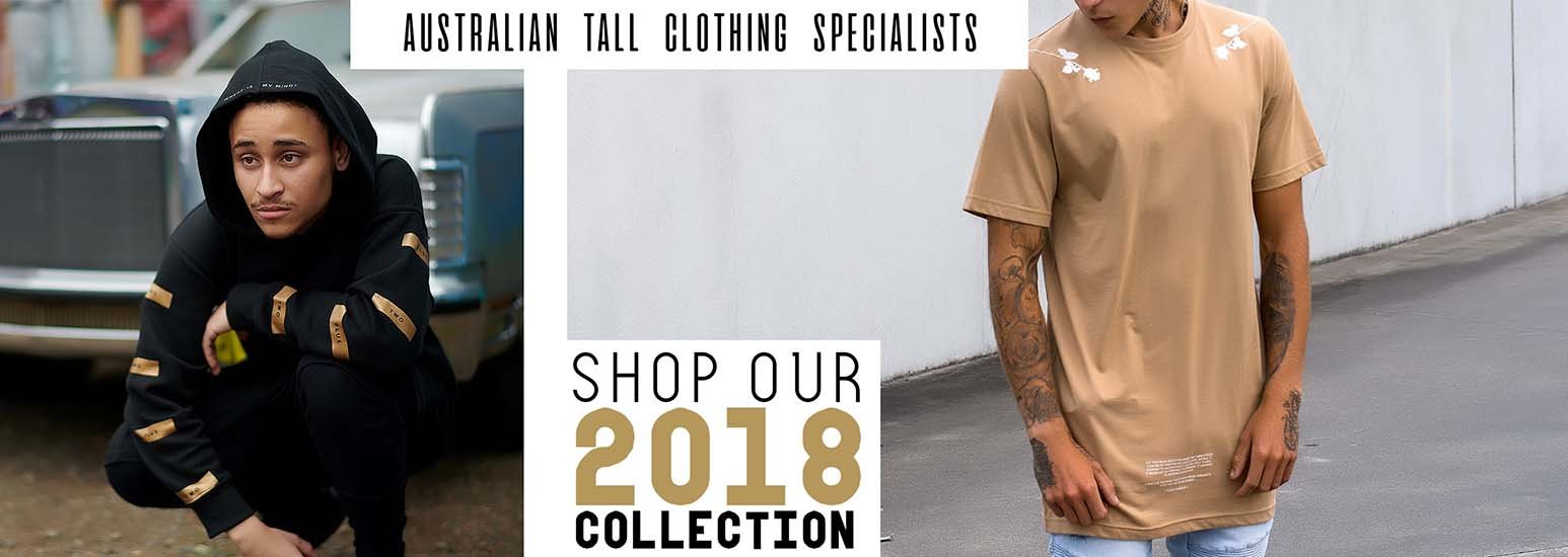 Australia's Largest Range of Tall Tees, Hoodies, Long Sleeve T-Shirts