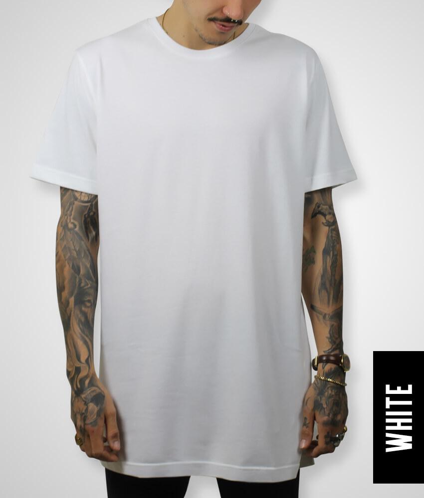 white t shirt large